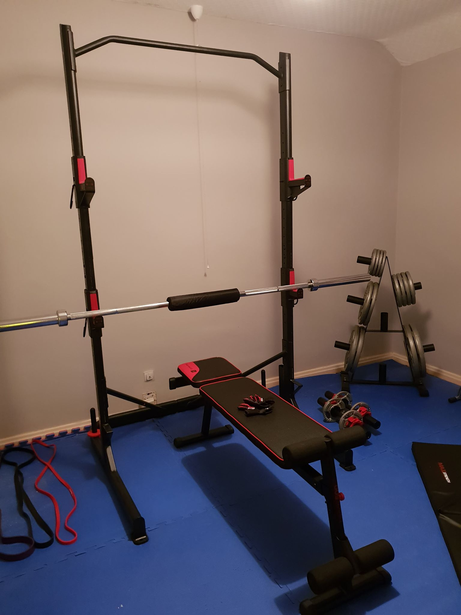 My Home Gym Set Up Couch To Runner