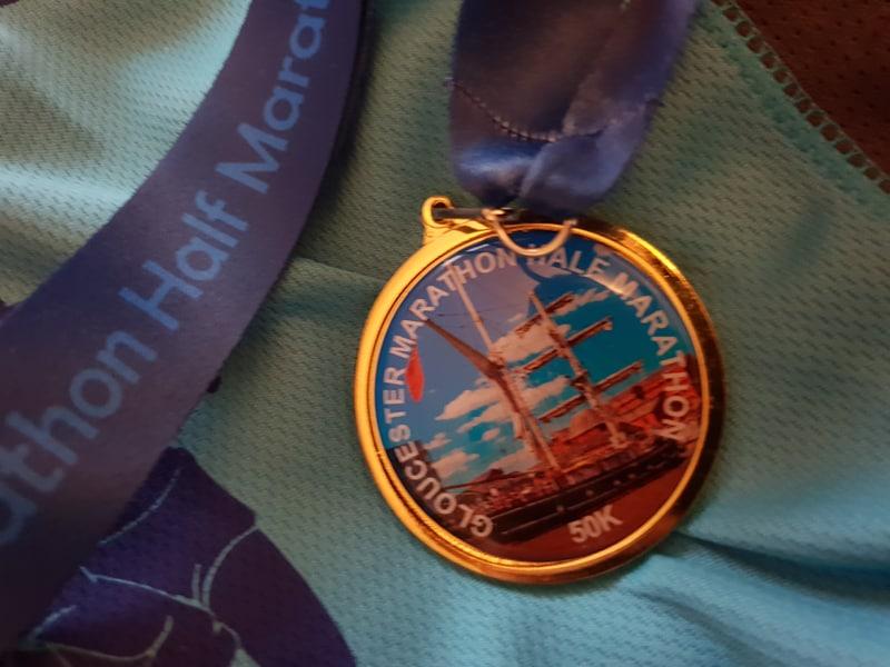 Gloucester Half Marathon Medal
