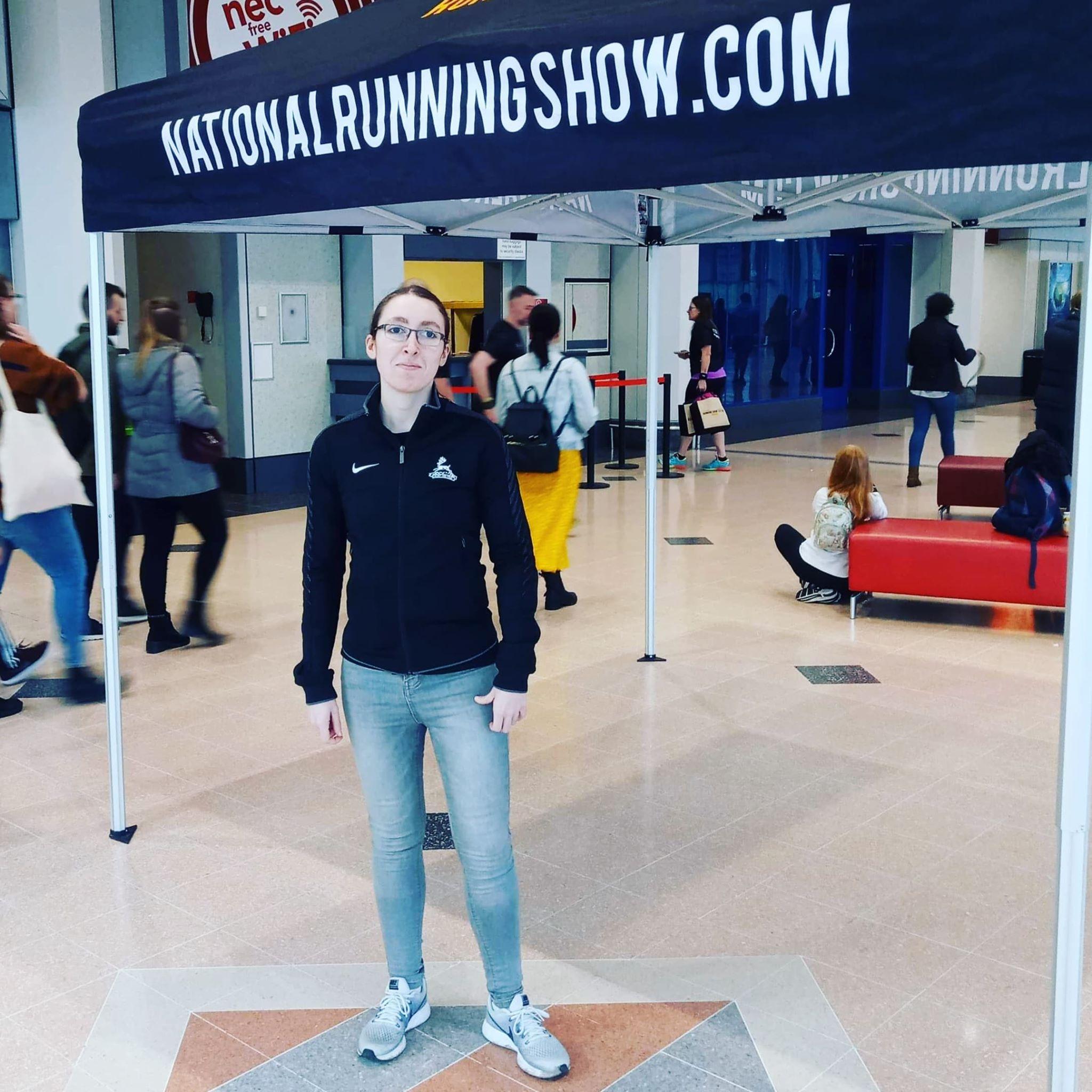 National Running Show Selfie