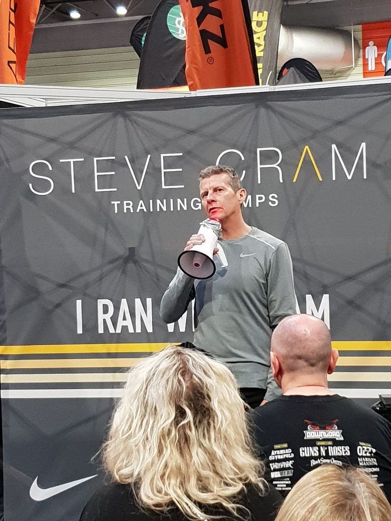 National Running Show Steve Cram