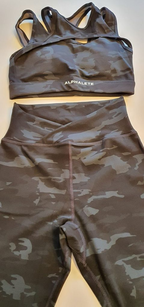 Alphalete Surface Black Camo